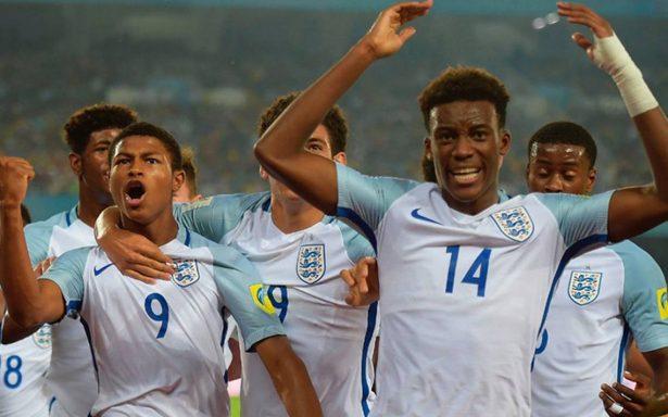Inglaterra derrota a España en final del Mundial Sub-17