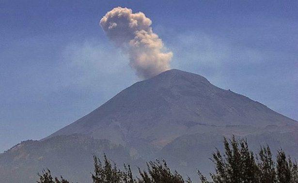 Supervisan rutas de evacuación del volcán Popocatépetl