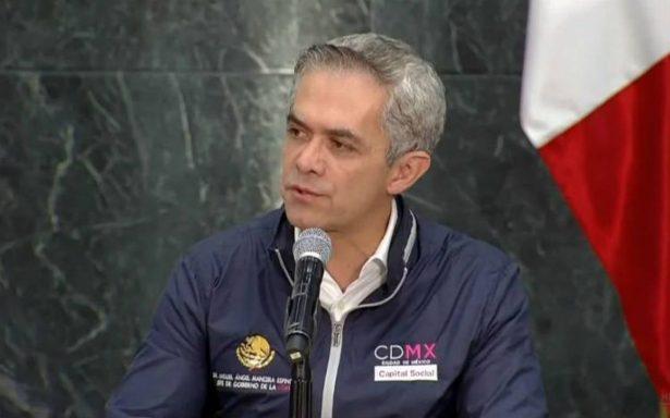 Mancera pide a Peña Nieto acelerar entrega del Fonden a la capital