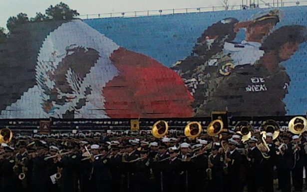 Fuerzas Armadas, listas para el desfile de Independencia