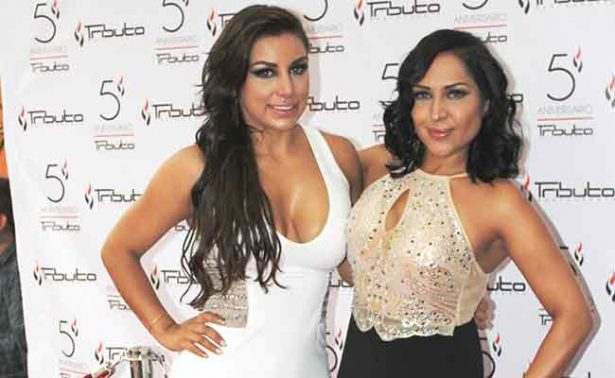 Mariana Aguirre  ofreció coctel  por aniversario