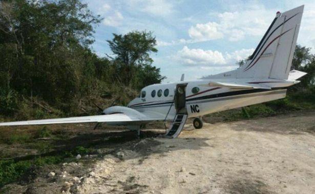 Localizan aeronave extraviada en Bacalar