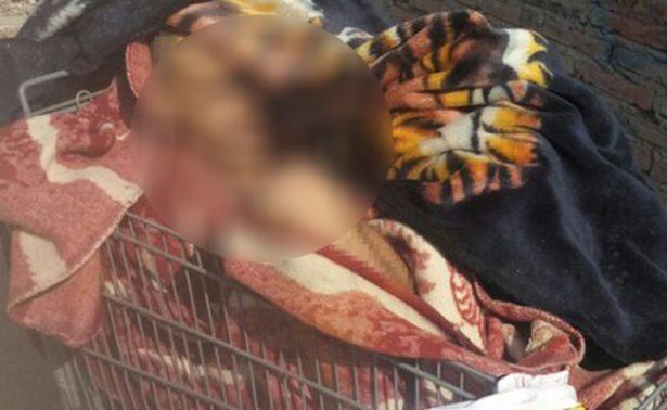 Abandonan cadáver en carrito de mandado en BC