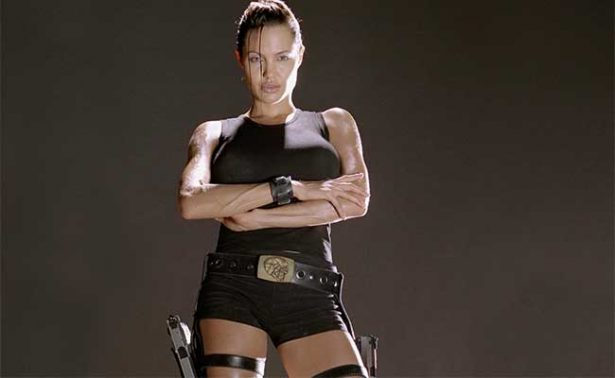 Para Tomb Raider, Angelina Jolie se sometió a prueba de drogas