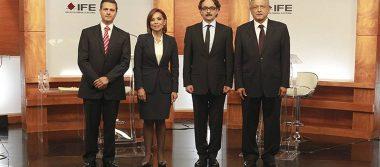 Inician la tercia de debates entre candidatos a la Presidencia de la República