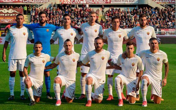 Héctor Moreno, feliz por jugar como titular en la victoria de la Roma
