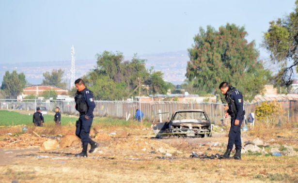 Encuentran cuerpo calcinado en Guanajuato