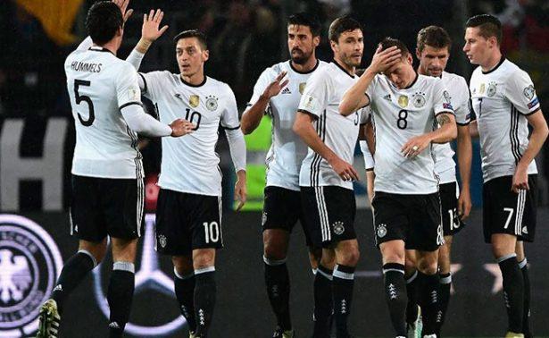 Alemania empata ante Dinamarca
