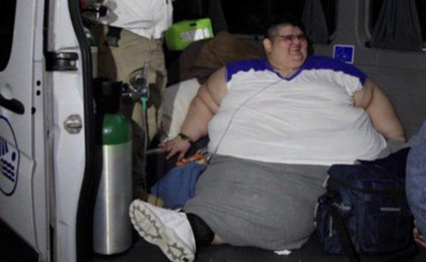 Juan Pedro , el hombre más obeso del mundo, está listo para cirugía