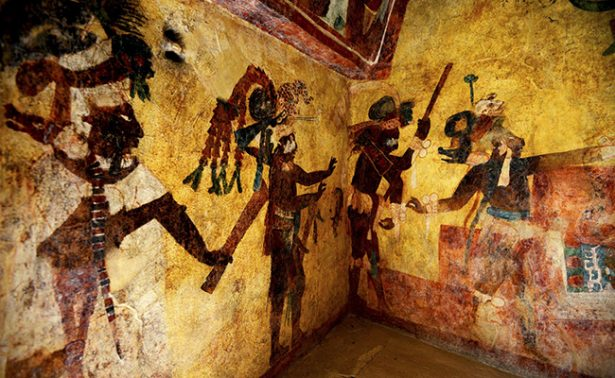 INAH devuelve el esplendor a los murales de Bonampak