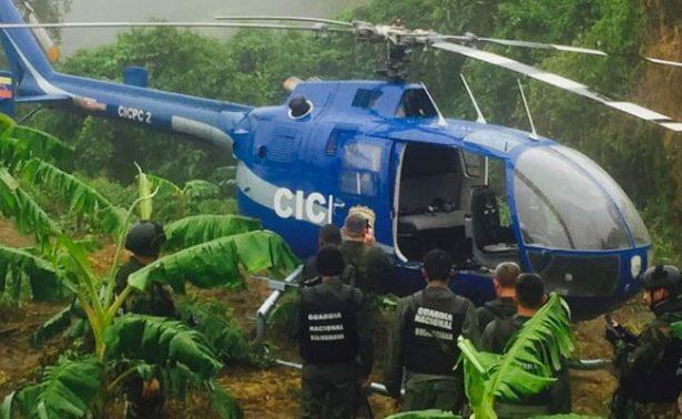 Hallan el helicóptero que fue usado para atacar Tribunal Supremo venezolano