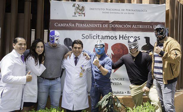 El CMLL impulsa la donación de sangre