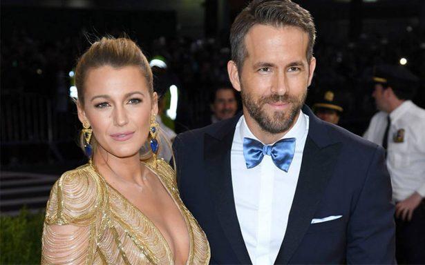 Blake Lively, esposa de Ryan Reynolds, sufre accidente en plena filmación