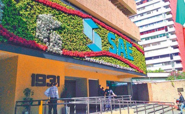Pactó el SAE 4,481 millones de pesos en ventas de bienes y activos este año