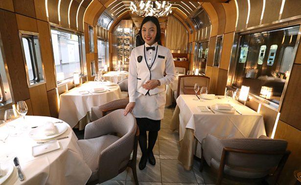 ¿Cuánto te cuesta un viajecito en el Shiki-Shima, crucero ferroviario en Japón?