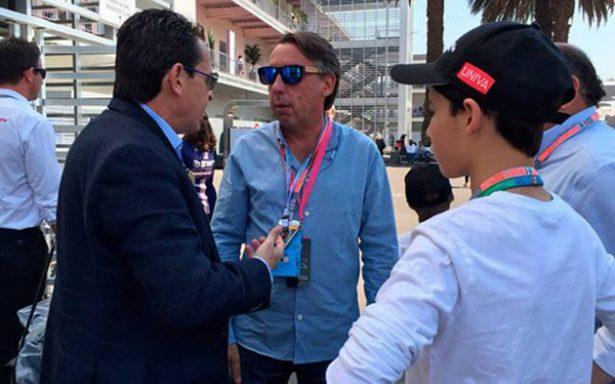 En la F1, Emilio Azcárraga confía en ver al América campeón