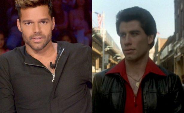 John Travolta, el amor platónico de Ricky Martin