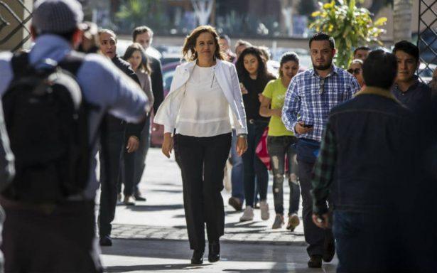 En mi gobierno se duplicará la intervención de la Policía Federal: Margarita Zavala