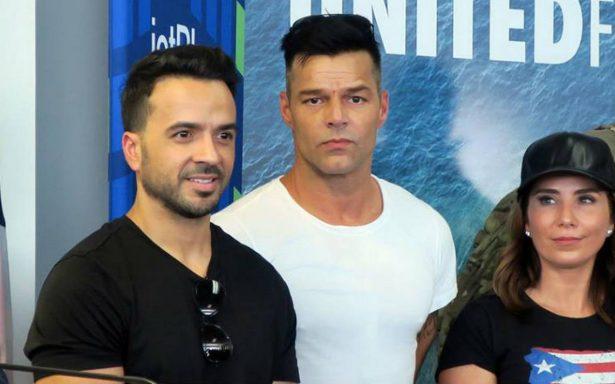 Ricky Martin, Luis Fonsi y Chayanne llevan ayuda a Puerto Rico