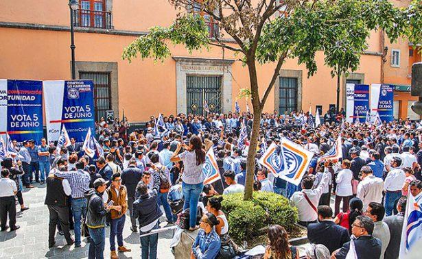 La depuración del padrón en el PAN provoca disputas entre  Anaya y Moreno Valle