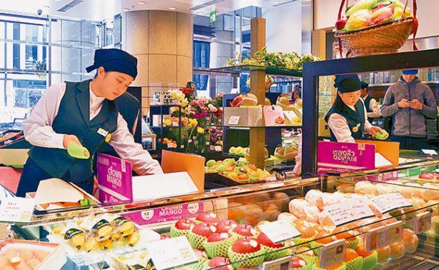 Fruta, un exclusivo lujo en Japón