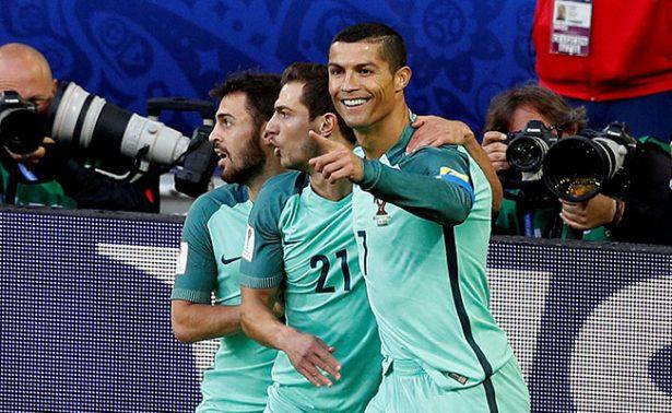 Gol de Cristiano Ronaldo salva a Portugal en Confederaciones