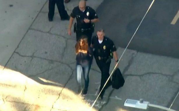 Tiroteo en escuela de Los Ángeles deja dos heridos