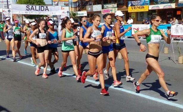 Gana chihuahuense prueba de los 10 kilómetros en Circuito Internacional de Marcha