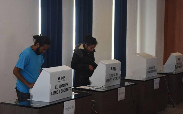 Urnas electrónicas pasan la prueba electoral en la UAQ