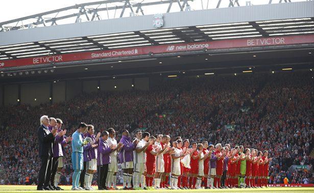 En partido benéfico, Liverpool vence al Real Madrid