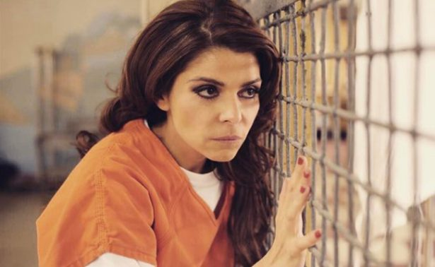 "[Video] Itatí Cantoral visita el set de ""Orange is the new black"""