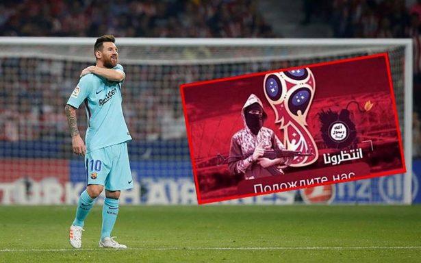 Nueva amenaza del EI contra el Mundial muestra una escalofriante foto de Messi