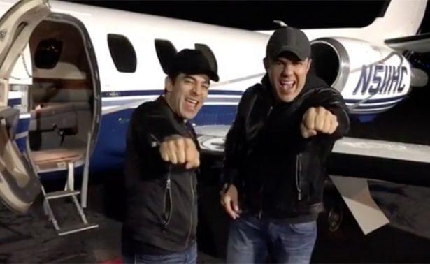 Las travesuras de Chaparro y Uribe en el aeropuerto de Dallas
