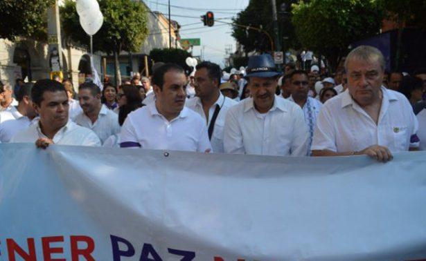 Realizan caminata por la paz en Cuernavaca