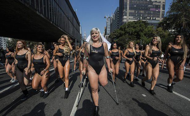 [Galeria] Con solo una pierna Rubia Machado busca ser Miss Bumbum 2017