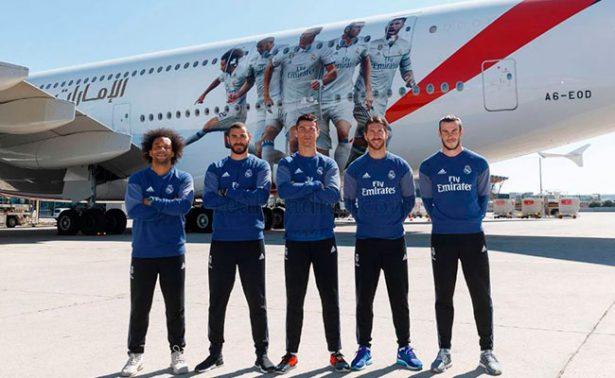 Así luce el nuevo avión del Real Madrid