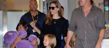 Rechazan pedido de Brad Pitt sobre custodia de sus hijos