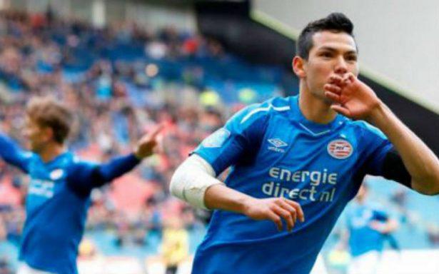 ¡Imparable! 'Chucky' Lozano no se cansa de hacer goles con el PSV