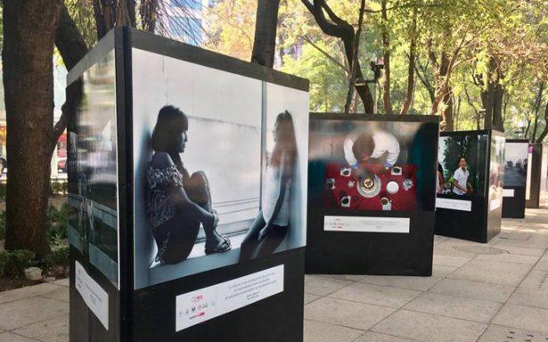 """Se inauguró la exposición fotográfica """"Reflejos de la reinserción"""""""