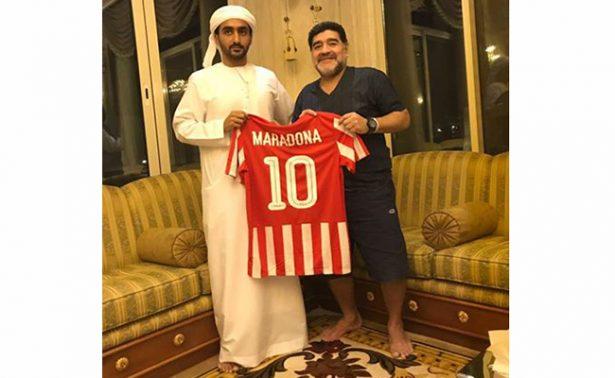Maradona, nuevo DT del Al-Fujairah de los Emiratos Árabes Unidos