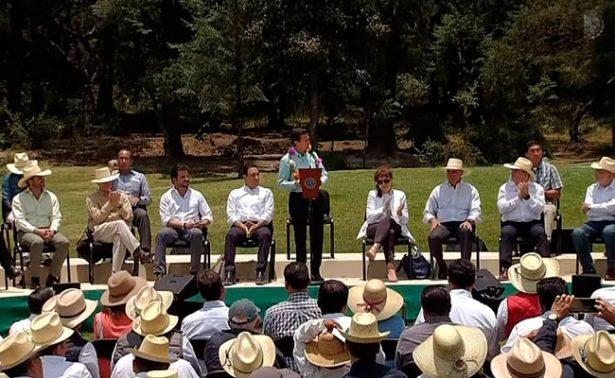 Necesario armonizar las políticas públicas para cuidar medio ambiente: Peña Nieto