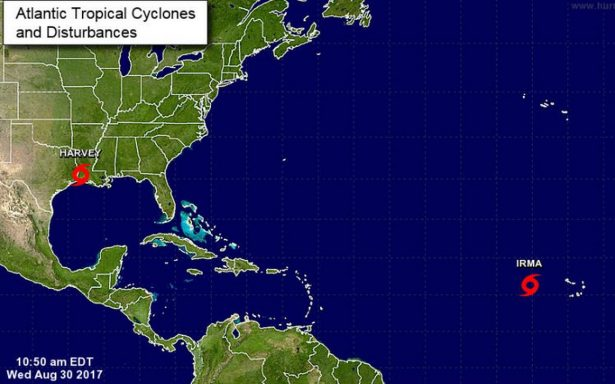 Se forma la tormenta Irma y amenaza convertirse en huracán