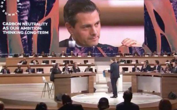 Peña Nieto anuncia cooperación regional para fijar precios del carbono