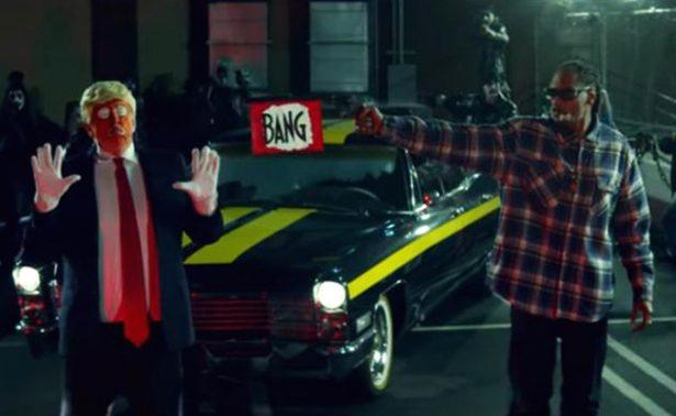 Critican a Snoop Dogg por video en donde dispara a Trump