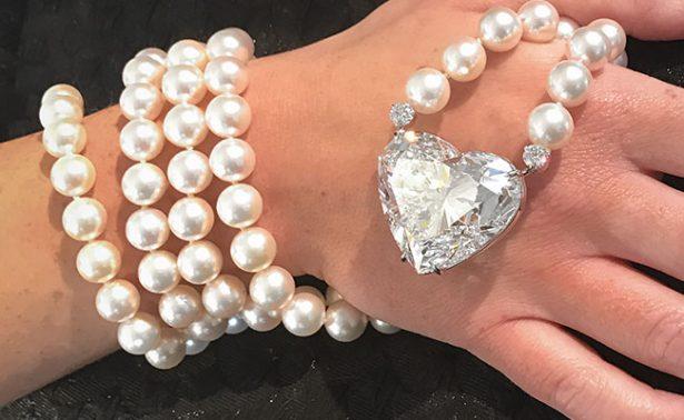 ¡Ponen a la venta el diamante más grande tallado en forma de corazón!