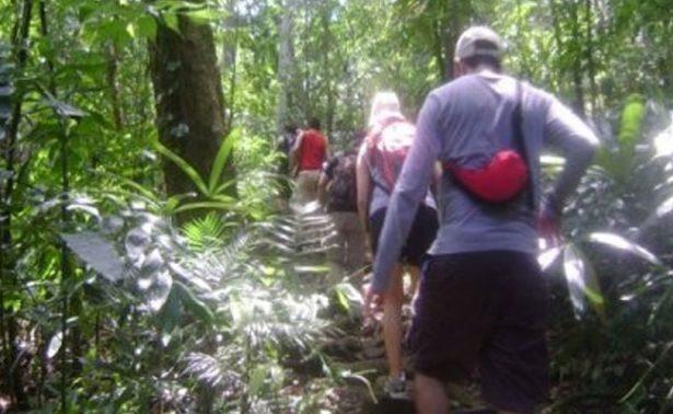 Reportan a turistas perdidos en Selva Lacandona