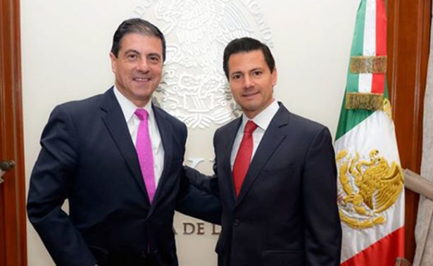 Instruye Peña Nieto a embajador fortalecer nueva relación con EU