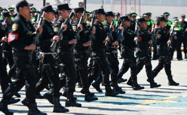 Acuartelarán a 16 mil policías previo a comicios en Edomex