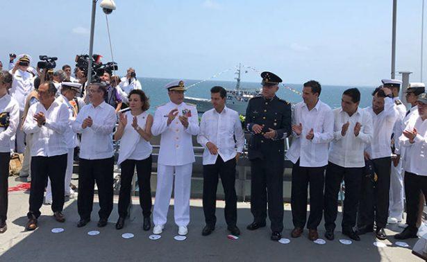 Marina tomará el control de puertos: EPN
