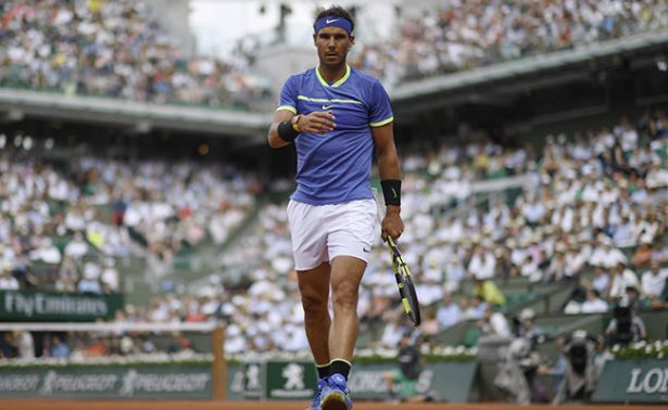 Rafael Nadal con paso firme en Roland Garros